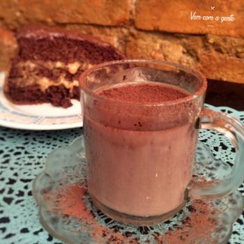 Chocolate Quente Chá Comigo
